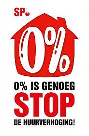 Logo stop de huurverhoging